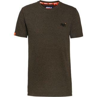 Superdry T-Shirt Herren desert olive space dye