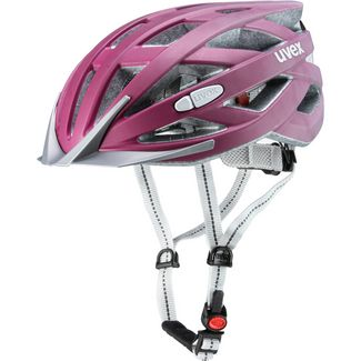 Uvex city i-vo Fahrradhelm Damen blackberry mat