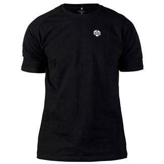 MOROTAI Basic Small Logo T-Shirt Herren Schwarz