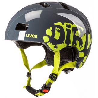 Uvex 3 Fahrradhelm Kinder dirtbike grey-lime