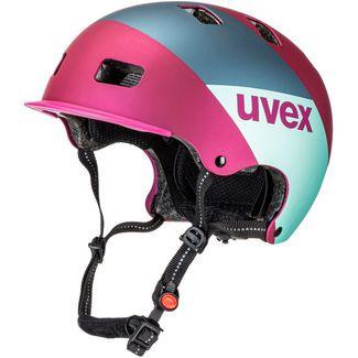 Uvex 5 bike pro Fahrradhelm berry mat