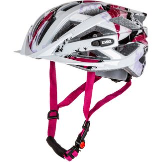 Uvex air wing Fahrradhelm Kinder white-pink