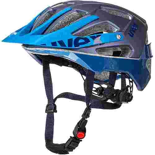 Uvex Quatro Fahrradhelm blue mat