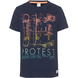 Protest Bolton Jr T-Shirt Kinder ground blue