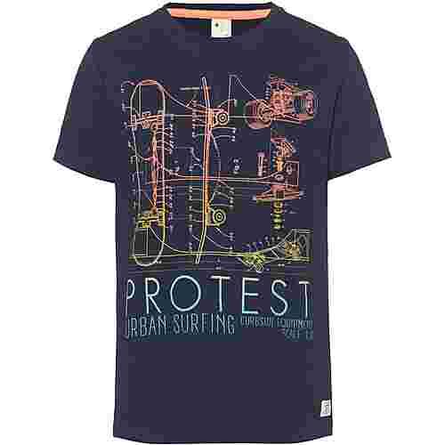 Protest Bolton Jr T-Shirt Kinder ground blue