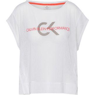 Calvin Klein Heritage Funktionsshirt Damen bright white