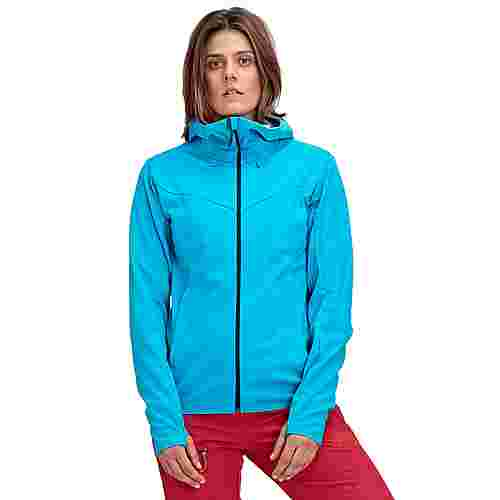 Mammut Ultimate V SO Softshelljacke Damen ocean-whisper melange