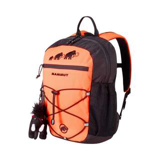 Mammut First Zip Wanderrucksack Kinder safety orange-black