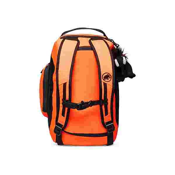 Mammut First Cargo Sporttasche Kinder safety orange-black