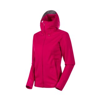 Mammut Ultimate V SO Softshelljacke Damen sundown-sundown melange