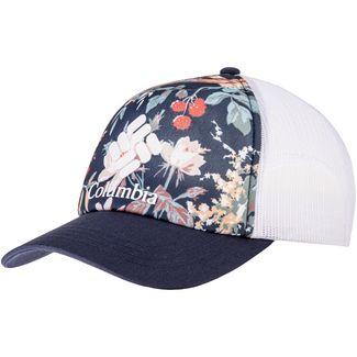 Columbia Mesh Cap Damen nocturnal floral, nocturnal, white, logo