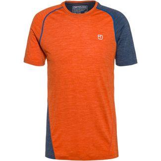 ORTOVOX 120 Cool Tec Merino Funktionsshirt Herren desert orange blend