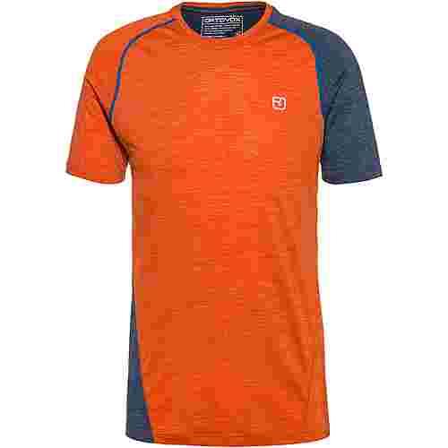 ORTOVOX Merino 120 Cool Tec Funktionsshirt Herren desert orange blend