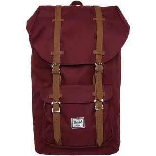 Herschel Rucksack Little America Daypack red-saddle brown
