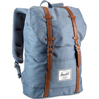Herschel Rucksack Retreat Daypack blue mirage crosshatch