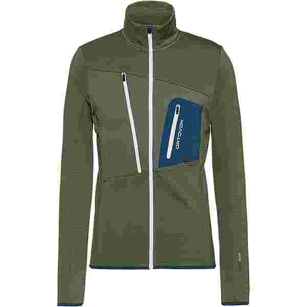 ORTOVOX Grid Fleecejacke Herren green forest