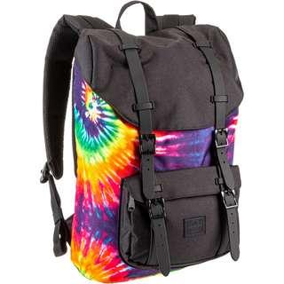 Herschel Rucksack Little America Mid-Volume Daypack rainbow tie dye