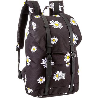 Herschel Rucksack Retreat Mid-Volume Daypack daisy black