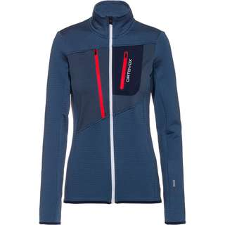 ORTOVOX Grid Fleecejacke Damen night blue