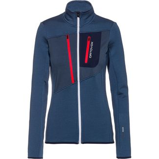 ORTOVOX Grid Kunstfaserjacke Damen night blue