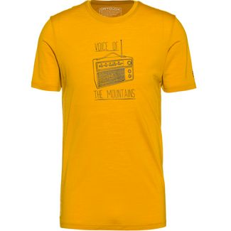 ORTOVOX Merino 150 Cool Radio Funktionsshirt Herren yellowstone
