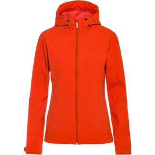 VAUDE Fano Softshelljacke Damen hotchili