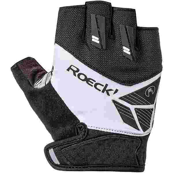 Roeckl Index Fahrradhandschuhe schwarz/weiß