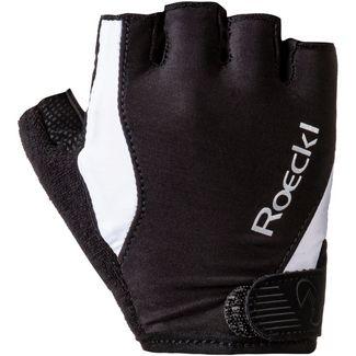 Roeckl Basel Fahrradhandschuhe schwarz/weiß