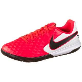 Nike JR TIEMPO LEGEND 8 ACADEMY IC Fußballschuhe Kinder laser crimson-black-white
