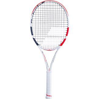 Babolat Pure Strike Team Tennisschläger white-red-black