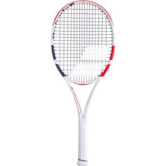 Babolat Pure Strike 100 Tennisschläger white-red-black