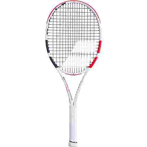Babolat Pure Strike 100 Tennisschläger white-red-black