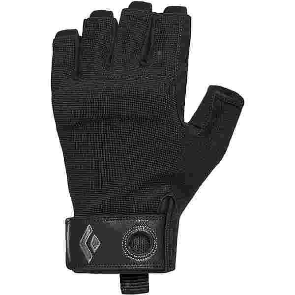 Black Diamond Crag Half Finger Kletterhandschuhe black