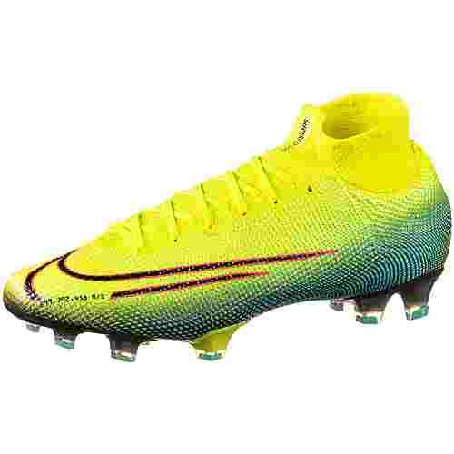 Nike MERCURIAL SUPERFLY 7 ELITE MDS FG Fußballschuhe Herren lemon venom-black-aurora green