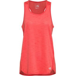The North Face Active Trail Funktionsshirt Damen cayenne red heather