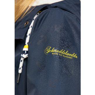 Schmuddelwedda Regenjacke Damen marine