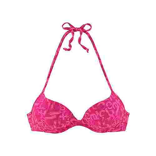 VENICE BEACH Bikini Oberteil Damen beere-bedruckt