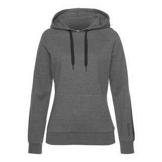 Bench Sweatshirt Damen anthrazit-meliert-schwarz