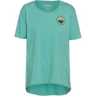 Burton Ashmore Scoop T-Shirt Damen buoy blue