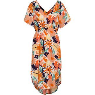 Roxy Kurzarmkleid Damen peach blush bright skies