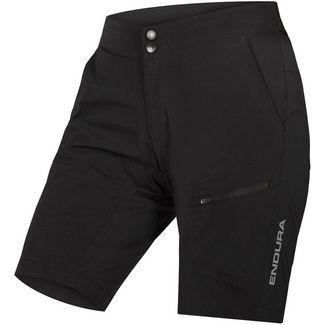 Endura Hummvee Lite Shorts mit Innenhose Fahrradshorts Damen schwarz