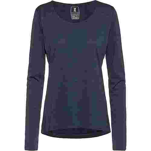 ON Laufshirt Damen navy