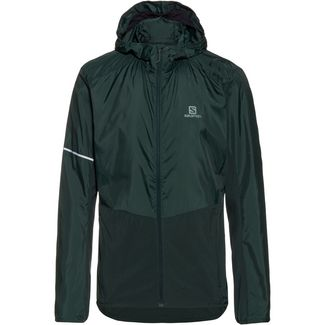 Salomon Agile Fleecehoodie Herren green gables