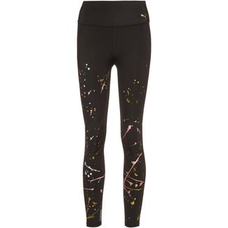 PUMA Metal Splash Tights Damen puma black