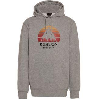 Burton Underhill Hoodie Herren gray heather