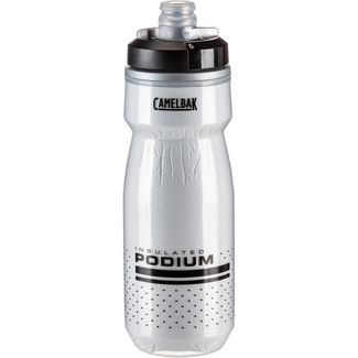 Camelbak Podium Chill 21 oz Trinkflasche white-black