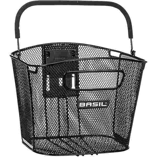 Basil Bold Front KF Fahrradkorb schwarz