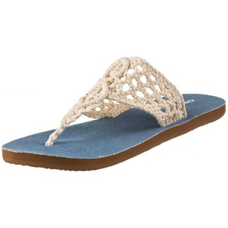 O'NEILL FW CROCHET SANDALS Zehentrenner powder white