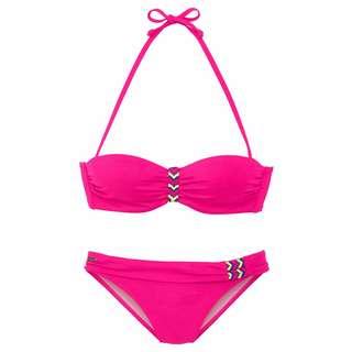 Bench Bikini Set Damen pink