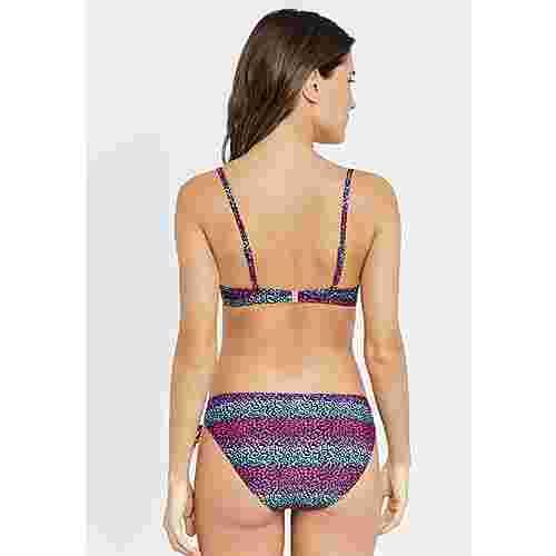 Buffalo Bikini Set Damen schwarz-bedruckt